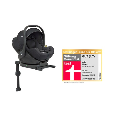 Joiei-Level i-Size Babyschale inkl. i-Base LX  coal 1