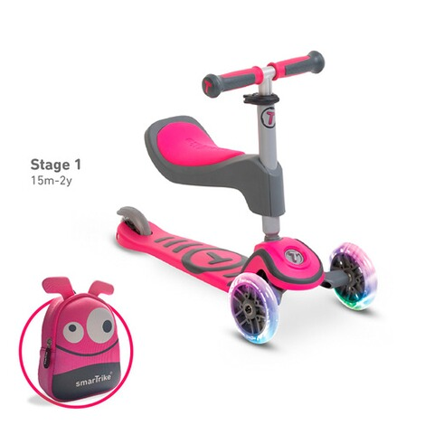 smarTrike  Scooter T1  pink 1