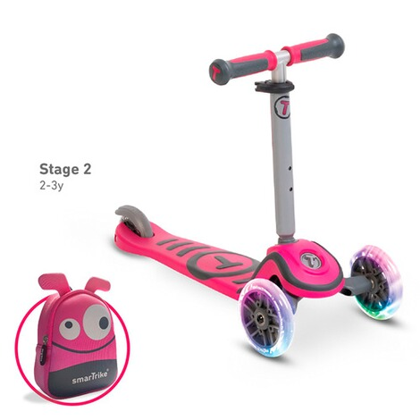 smarTrike  Scooter T1  pink 3
