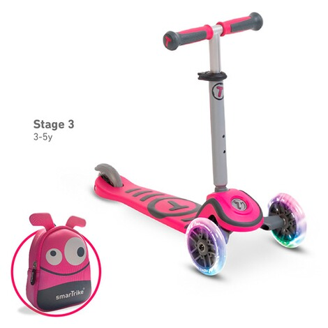 smarTrike  Scooter T1  pink 4