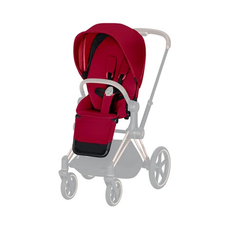 Cybex PLATINUM Sitzpaket Priam  true red 1