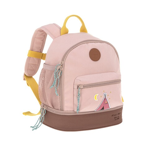 Lässig  Kindergartenrucksack Mini Backpack Adventure  rosa Tipi 1