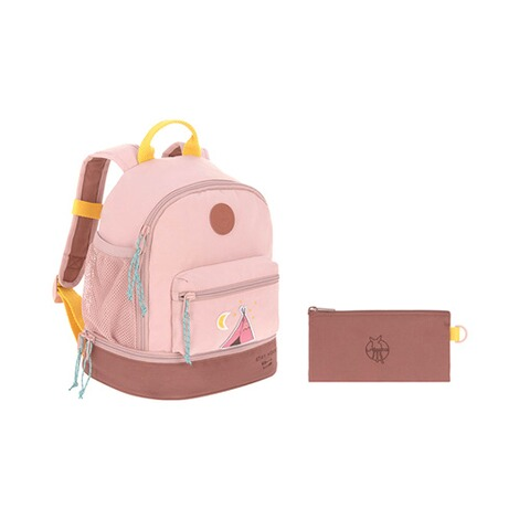 Lässig  Kindergartenrucksack Mini Backpack Adventure  rosa Tipi 11