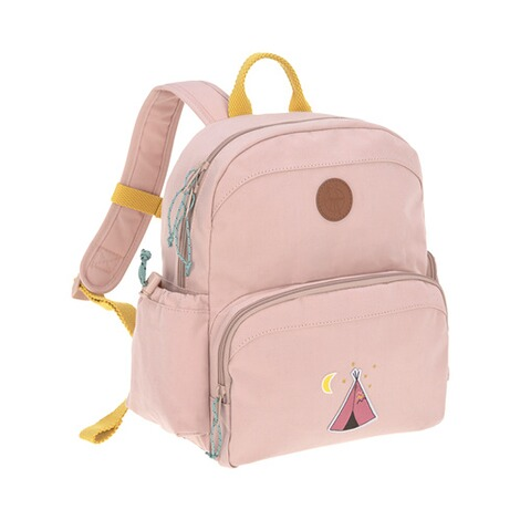 Lässig  Kinderrucksack Medium Backpack Adventure  rosa Tipi 1