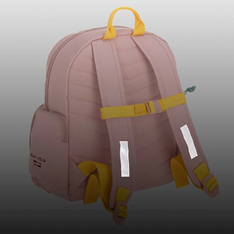 Lässig  Kinderrucksack Medium Backpack Adventure  rosa Tipi 7