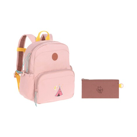 Lässig  Kinderrucksack Medium Backpack Adventure  rosa Tipi 10