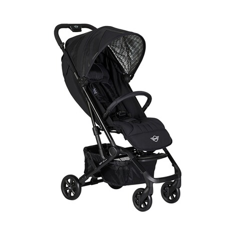 EasywalkerMINIBuggy XS mit Liegefunktion  oxford black 1