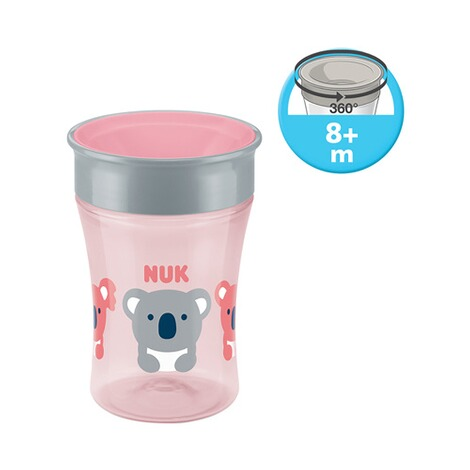NUK  Trinklernbecher Magic Cup 230 ml  rosa 3