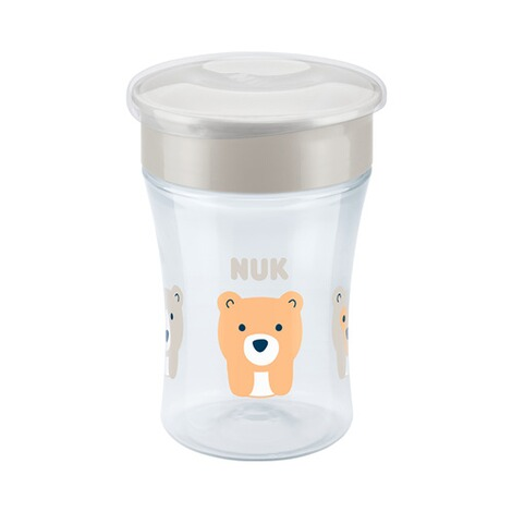 NUK  Trinklernbecher Magic Cup 230 ml  weiß 2