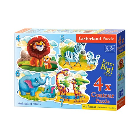 Glow2B  Puzzle Zootiere 1