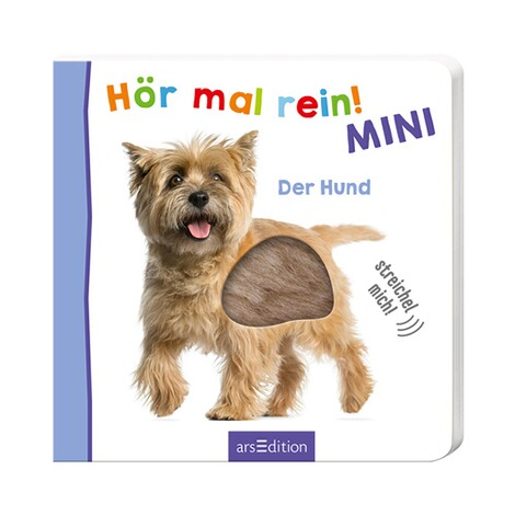 arsEdition  Soundbilderbuch Hör mal rein! MINI - Der Hund 1