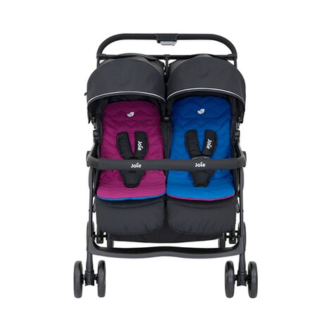 Joie  Aire Twin Zwillings- und Geschwisterbuggy  rosy & sea 4