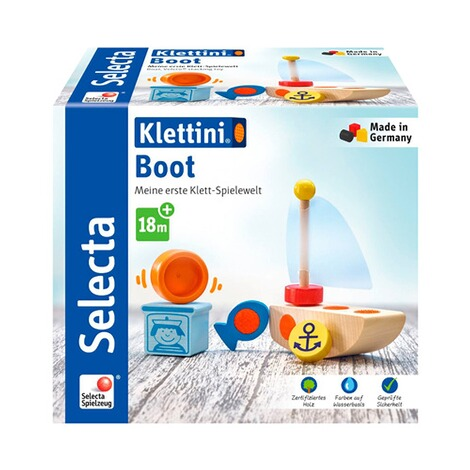 Selecta Klettini Bausteine Klettini Boot 2