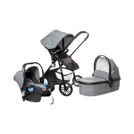 Osann  POP Kombikinderwagen Trio-Set  grey melange 1