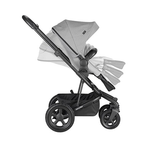 Easywalker  Harvey² All Terrain Kinderwagen  stone grey 7
