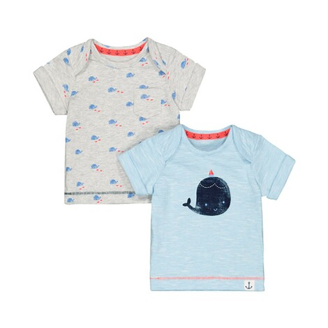 Mothercare  2er-Pack T-Shirts Wal 1