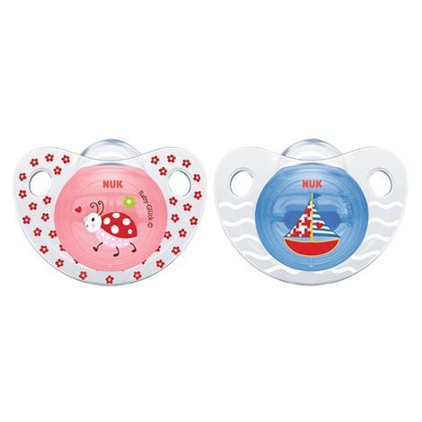 2er-Pack Schnuller Trendline Babyglück 6-18 Monate