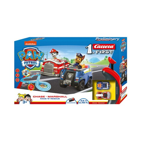 Carrera PAW PATROL Auto-Rennbahn Carrera First - Race 'N' Rescue 2