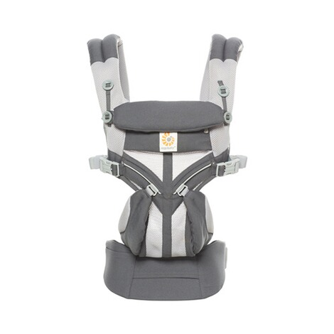 Ergobaby®OMNI 360Cool Air Mesh Babytrage, 4 Tragepositionen  CarbonGrey 2