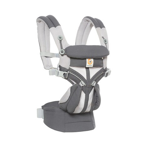 Ergobaby®OMNI 360Cool Air Mesh Babytrage, 4 Tragepositionen  CarbonGrey 4