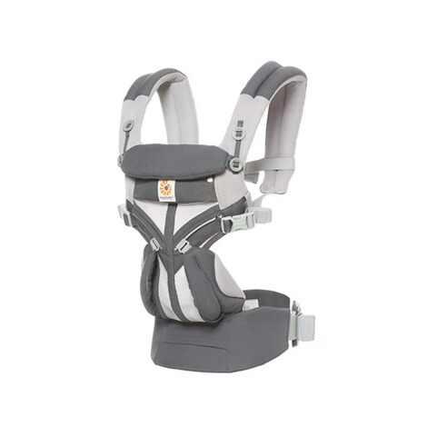 Ergobaby®OMNI 360Cool Air Mesh Babytrage, 4 Tragepositionen  CarbonGrey 1
