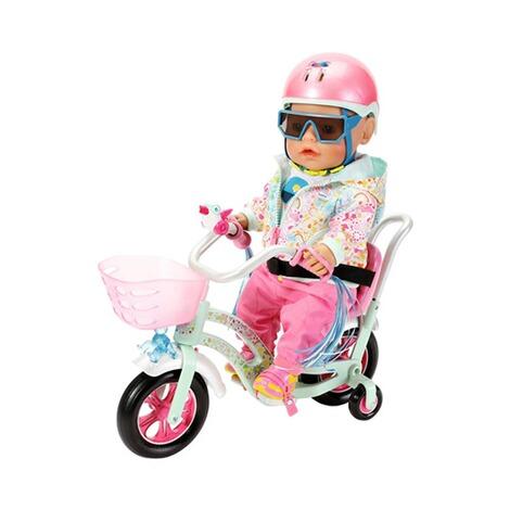 Zapf Baby Born Puppen Outfit Deluxe Fahrrad Playfun 43cm