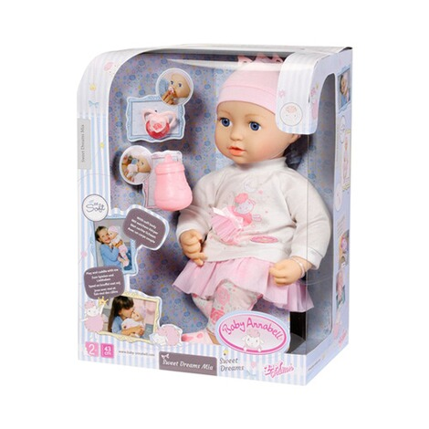 Zapf CreationBABY ANNABELLPuppe Baby Annabell Sweet Dreams Mia 43cm 4