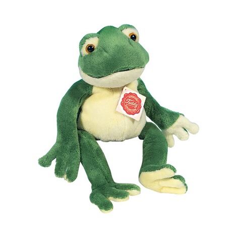 Hermann Teddy Collection  Kuscheltier Schlenkerfrosch 28cm 1
