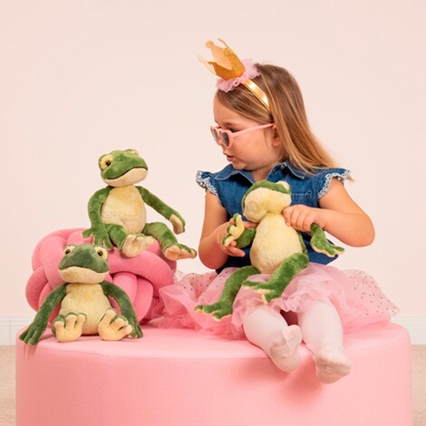 Hermann Teddy Collection  Kuscheltier Schlenkerfrosch 28cm 2