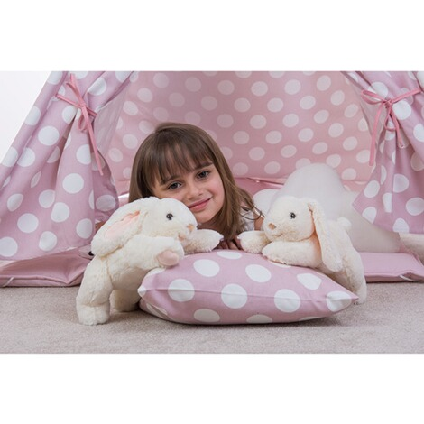 Hermann Teddy Collection Herzekind Kuscheltier Hase Sleepy 30cm 2