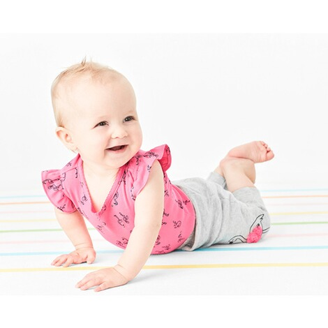 CARTER´S  2-tlg. Set Body Flügelarm und Leggings Flamingo 3