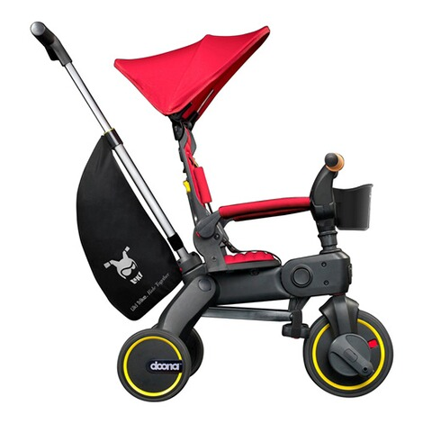 DoonaDreirad Liki Trike S5  Flame Red / rot 2