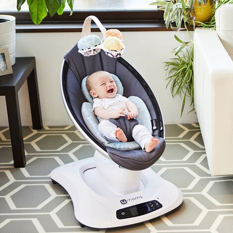 4moms MAMAROO 4 Babywippe Cool Mesh 12