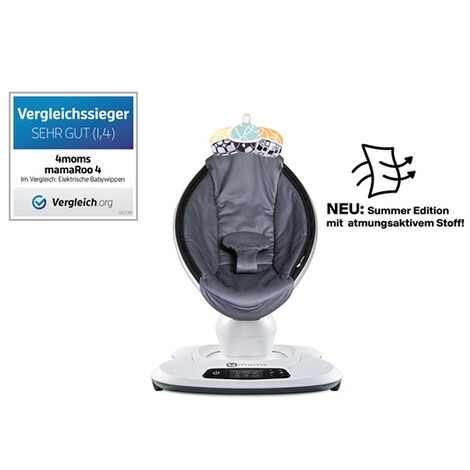 4moms MAMAROO 4 Babywippe 3D  Cool Mesh 2