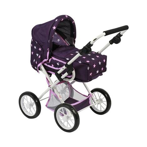 Kombi-Puppenwagen Leni NEU jeans/grau Puppenwagen Puppen & Zubehör