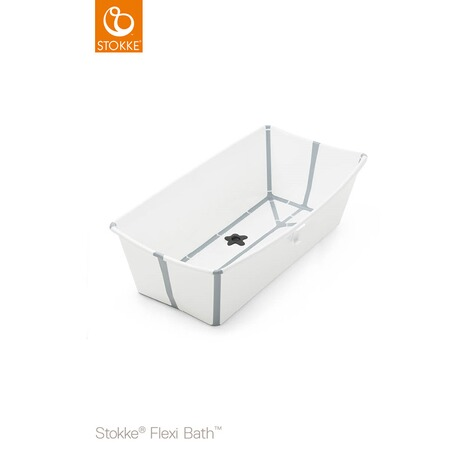 Stokke® FLEXIBATH Badewanne XL  white grey 1