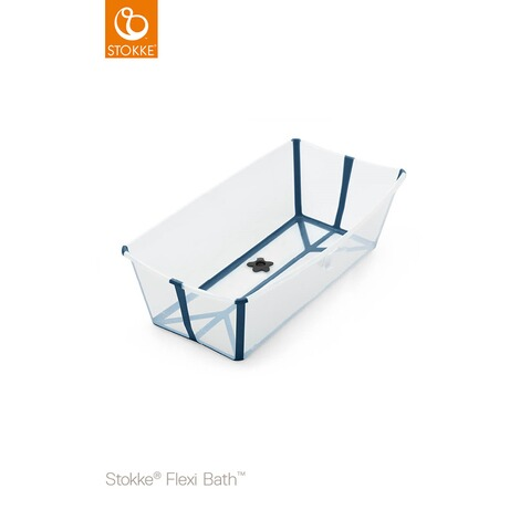 Stokke® FLEXIBATH Badewanne XL  transparent blue 1