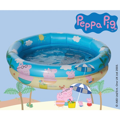 Happy People Peppa Pig Babypool mit aufblasbarem Boden Peppa Pig 3