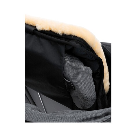 Christ  Lammfell-Fußsack Cortina  black 5