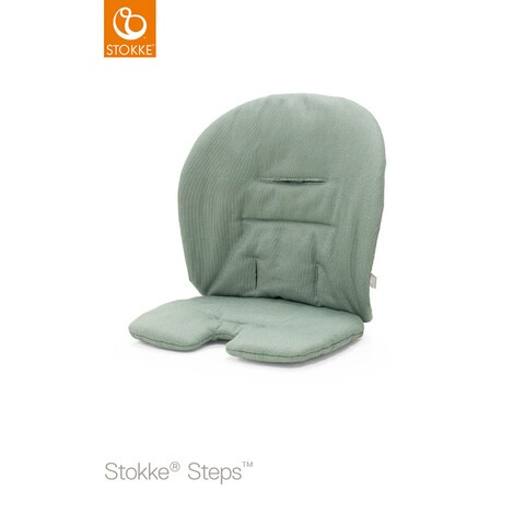 Stokke® STEPS™ Sitzkissen Organic Cotton  Timeless Green 1