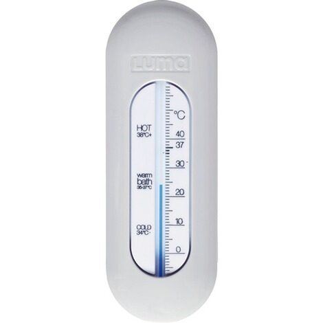 LUMA Babycare  Badethermometer  Light Grey 1