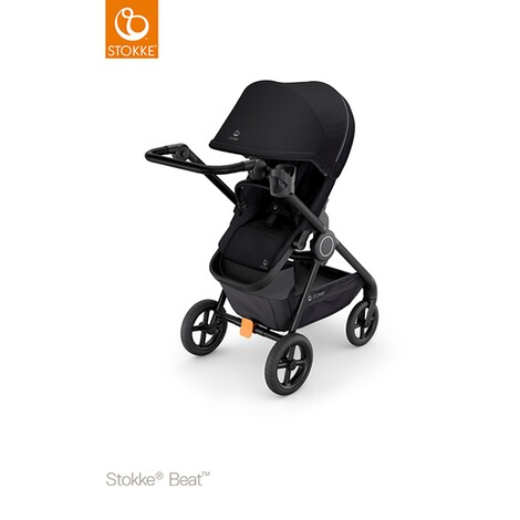 Stokke® Beat® Kinderwagen  black 1