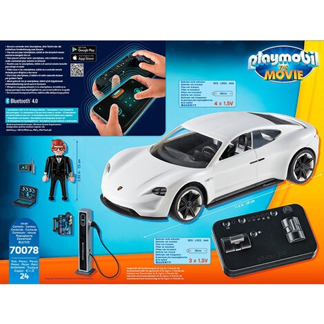 Playmobil®PORSCHE70078 The Movie Rex Dasher's Porsche Mission E 6