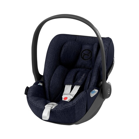 Cybex PLATINUM Cloud Z i-Size Plus Babyschale  midnight blue 1