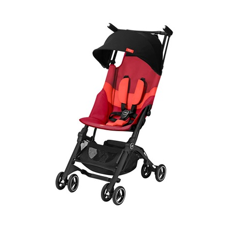 gb GOLD Pockit+ All-Terrain Buggy  Rose Red 1