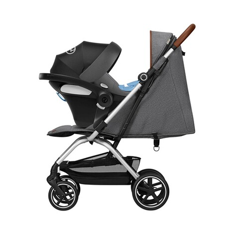 Cybex GOLD Eezy S+ Denim Collection Buggy mit Liegefunktion  Manhattan Grey 5