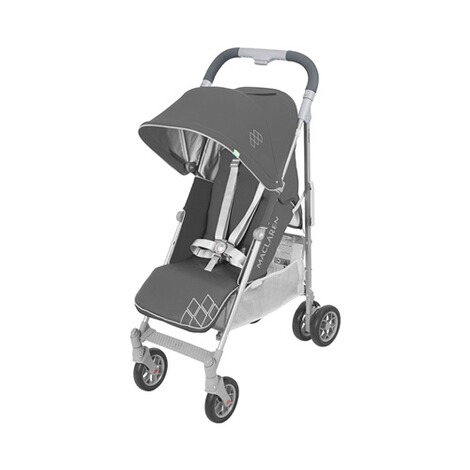 MaclarenTechno ARC Buggy mit Liegefunktion  charcoal silver 1