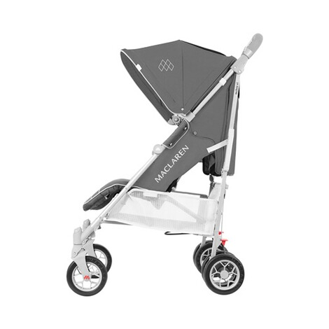MaclarenTechno ARC Buggy mit Liegefunktion  charcoal silver 2