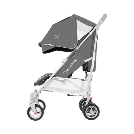 MaclarenTechno ARC Buggy mit Liegefunktion  charcoal silver 3