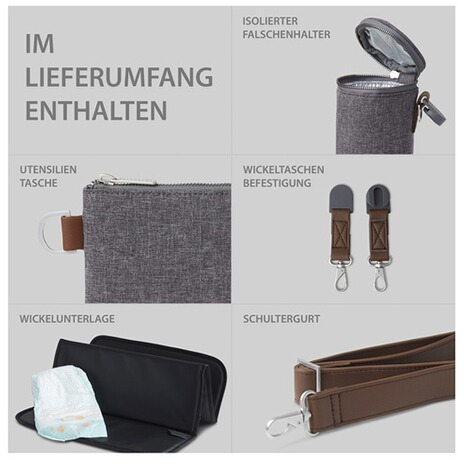 ABC Design  Wickeltasche Urban  street 8